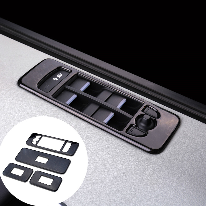 ФОТО For Land Rover Discovery Sport Stainless Door Armrest Window Switch Cover 2015-2016 4pcs