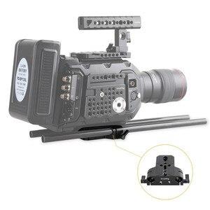 Image 5 - Smallrig カメラベースプレートデュアル 15 ミリメートルロッドレールクランプソニー FS7/ソニー A7 シリーズ/キヤノン c100/C300/C500/パナソニック GH5   1674