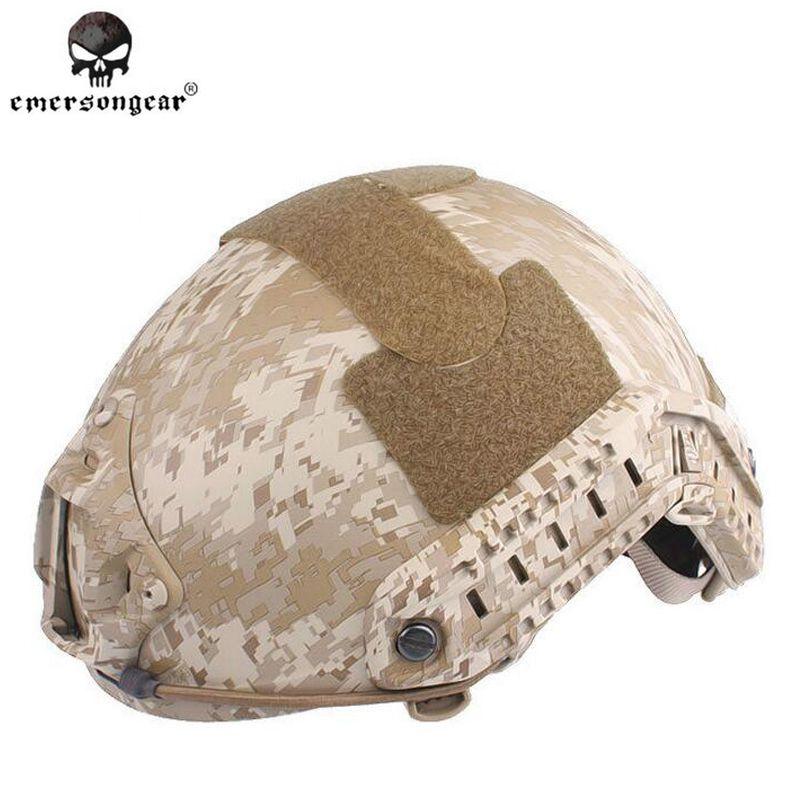 Emersongear FAST Helmet MH TYPE Tactical helmet Desert Digital EM5658E Free shipping 2015 new kryptek typhon pilot fast helmet airsoft mh adjustable abs helmet ph0601 typhon