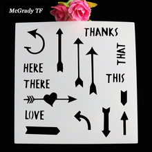Buy stencil letters spray and get free shipping on aliexpress scrapbooking card diy album masking spray painted template drawing letter stencil laser cut template cake stencil spiritdancerdesigns Image collections