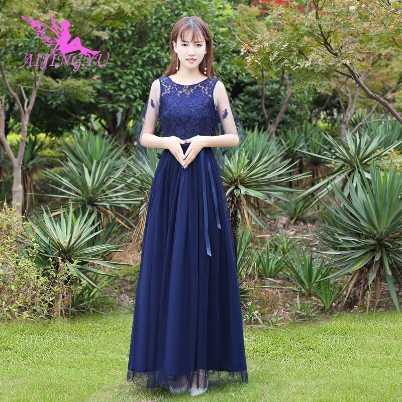 AIJINGYU 2018 Sexy Elegant Dress Women For Wedding Party Bridesmaid Dresses BN893