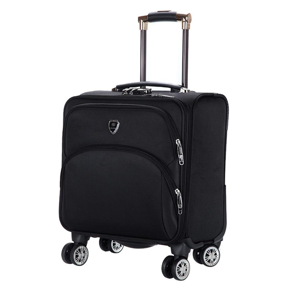 16 INCH Waterproof Oxford Suitcase Trolley Luggage ...