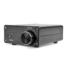 Aiyima mini amplificador de potência tpa3116, 2*50w, digital, estéreo, música amp 2.0, canal classe d amplificador de áudio