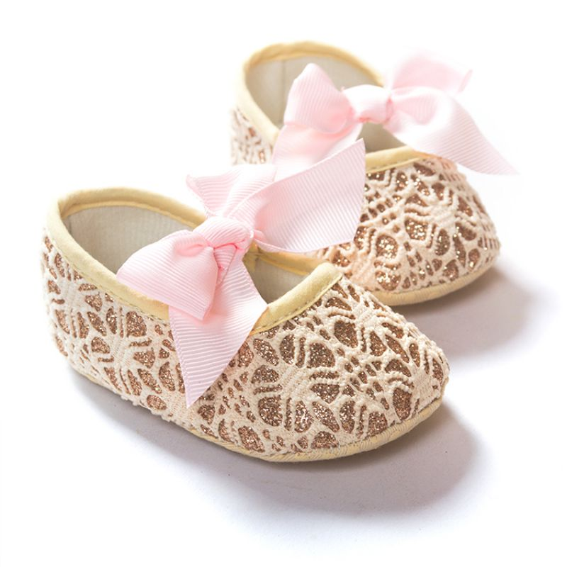 2017 Baby Infant Kids Girl Soft Sole Crib Toddler Anti-slip Shoes Newborn For 18 Months New Arrival
