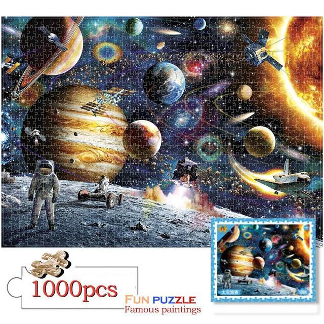 puzzle adulte 1000 pieces Jigsaw Landscape puzzle home decoratiob for children educational toys puzzle game jigsaw Puzzles GiftPuzzles & Games
