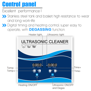 Image 4 - Цифровой ультразвуковой очиститель Granbo, 22 л, 900 Вт
