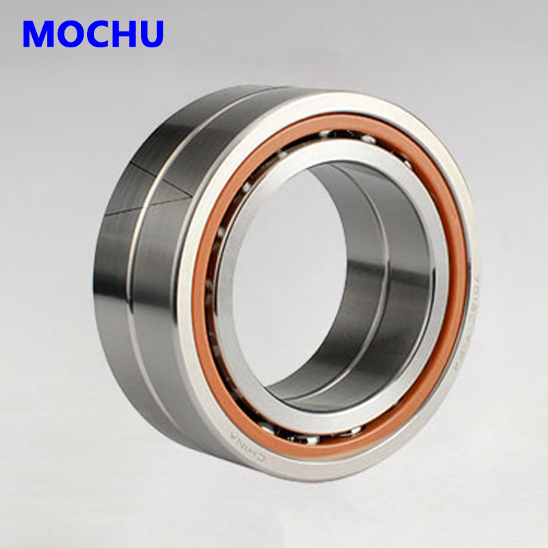 1pair MOCHU 7208 7208C 7208C/P4DB 40x80x18 Angular Contact Bearings Spindle Bearings CNC ABEC-7 1pcs 71822 71822cd p4 7822 110x140x16 mochu thin walled miniature angular contact bearings speed spindle bearings cnc abec 7