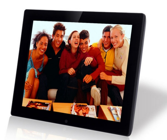 15inch touch screen arcylic wifi mp3/mp4 video player digital photo ...