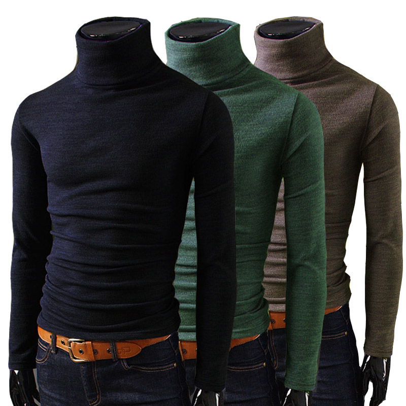 Buy 2014 fashion new men t shirts for Turtleneck under t shirt