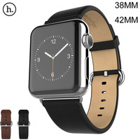 Original HOCO Classic Genuine Leather Watch Band For Apple Watch Strap For IWatch 42mm 38mm Series