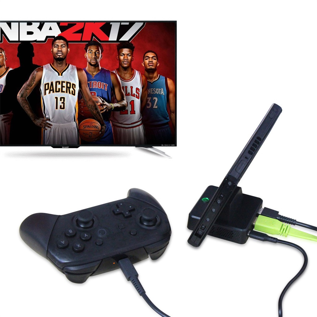 For Nintend Switch HDMI Video Converter Base Switch Portable TV Base Converte Gamer Games Gaming Player Console Gamepad-in Power Supplys from Consumer Electronics