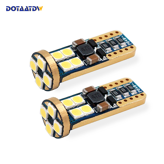 dotaatdw 10pcs t10 12smd led bulbs 194 168 3030 w5w canbus for car rh aliexpress com LED Map Lights for Cars LED Street Light Map