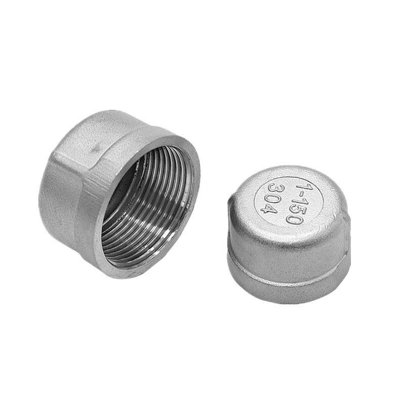 SS304 Stainless Steel Pipe Tube End Cap Head Stopper fittings 1/8