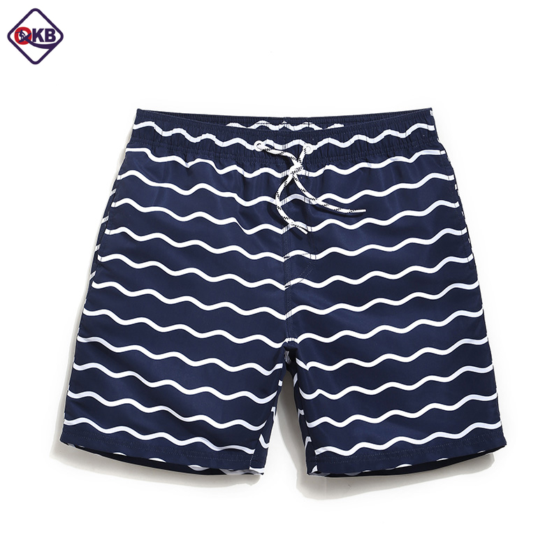 QIKERBONG Men Beach   Shorts     Board   Trunks   Shorts   Casual Quick Drying Male Swimwear Swimsuits Bermuda Casual Active