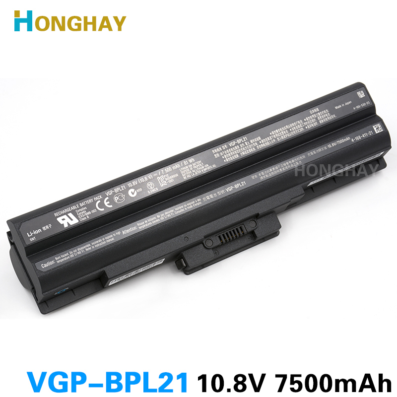NEW original VGP-BPL21 Battery For SONY VGN-AW VGN-CS VGN-FW VGN-NS BPS21 BPS13/B VGP BPS13/Q BPL21 BPL13 BPS21A VGP-BPS13/B new for sony vgn fj series laptop us keyboard 147951221 black
