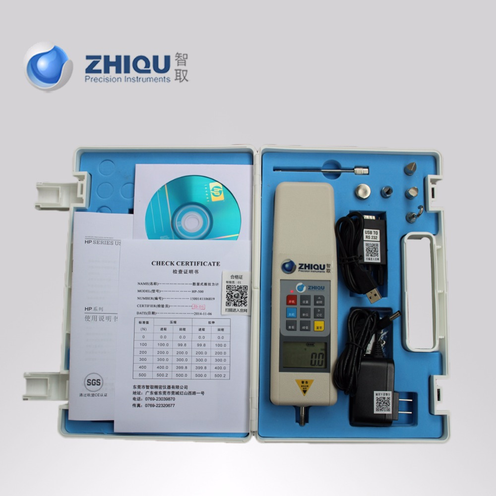 Dinamometro Digital Forza Gauge HP-100 Push Pull Forza Gauge Con RS232 Uscita Seriale