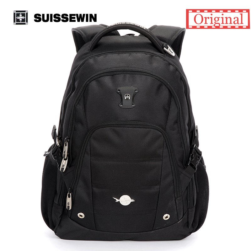 Swiss Backpack Suissewin waterproof Laptop Backpack Swisswin Large Capacity Nylon Men's Travel Backbag Sac A Dos Sn9051 new 65l nylon large capacity multifunctional backpack high quality waterproof travel bags designer rucksack sac a dos mochila