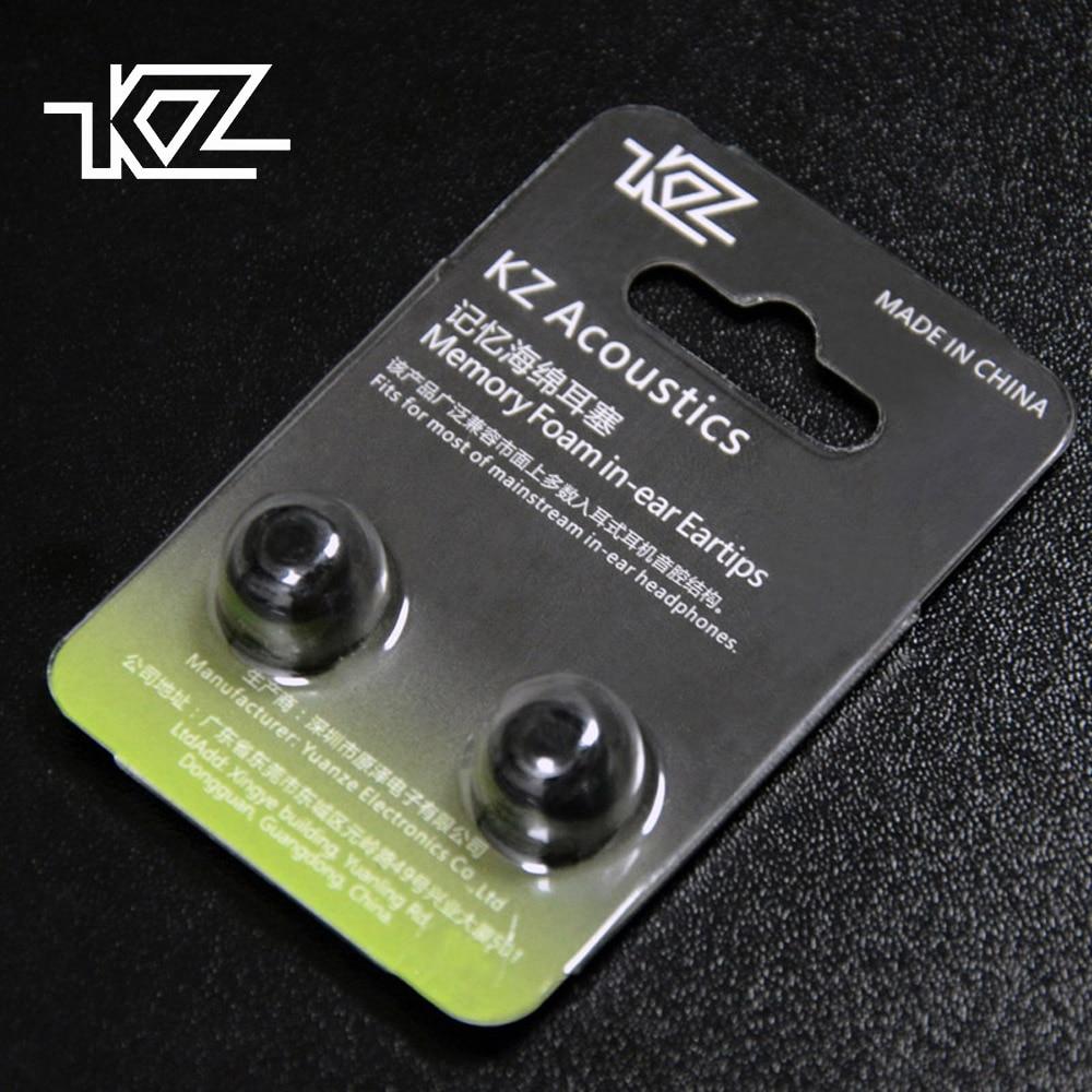 2 шт. KZ шумоизоляция пены памяти губка амбушюры для наушников гарнитура наушники усиленные басы амбушюры для ZS10|Аксессуары для наушников|   | АлиЭкспресс