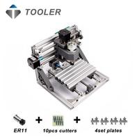 CNC 1610 With ER11 Diy Cnc Engraving Machine Mini Pcb Milling Machine Wood Carving Machine Cnc