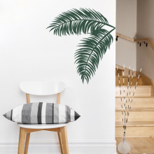 Tropical Tree High Quality Wall Sticker Hawaiian Style Home Decoration Vinyl Art Design Decals Fashion Stickers W406