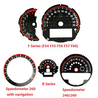 Car Styling Speedometer Tachometer Dial Sticker for Mini Cooper JCW F54 F55 F56 F57 F60 R55 R56 R60 R61 Replacement Accessories