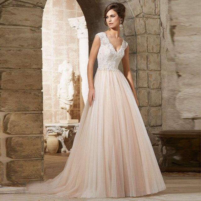 Tulle Empire Bridal Dress