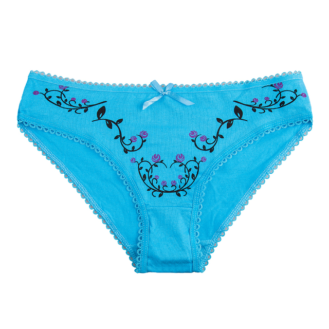Women's cotton panties Girl Briefs