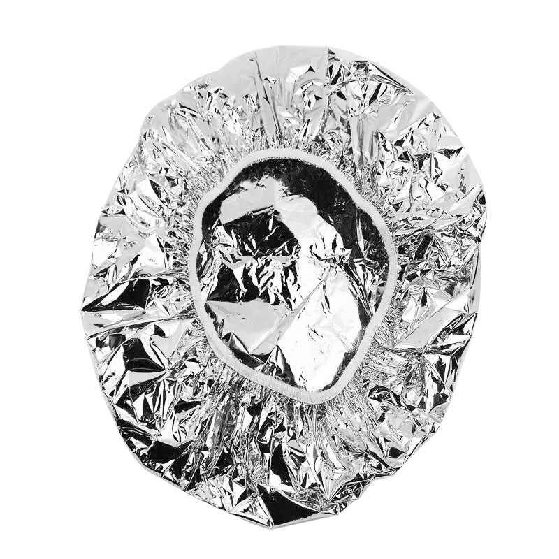 Эластичная растягивающаяся 1 шт. алюминиевая фольга Водонепроницаемая ультратонкая банная вытяжка питательная сухая одноразовая шапочка для душа масло для выпечки шапочка для волос