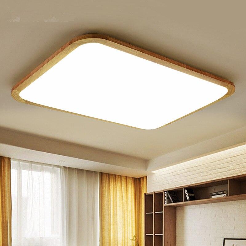 Moderne LED En Bois Plafonniers Pour Salon Hall Lamparas de techo Japon Luminaires Pour Chambre CuisineModerne LED En Bois Plafonniers Pour Salon Hall Lamparas de techo Japon Luminaires Pour Chambre Cuisine