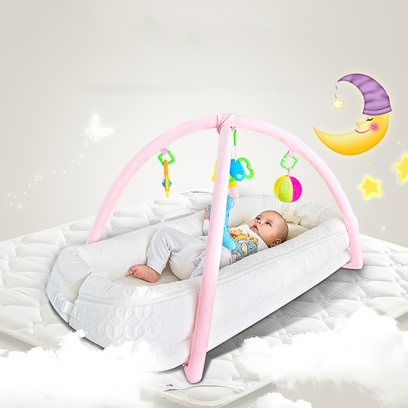 Teknum Crib, Newborns, Multi-function Portable Bed, Bionic Baby Game Bed