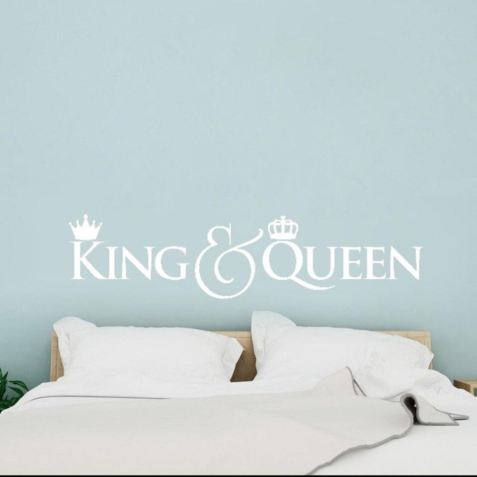 Headboard Diy Vinyl Wall Decals King