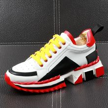 CuddlyIIPanda Luxury Men Fashion Casual Shoes Summer Breatha