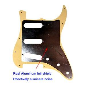 Аксессуары для гитары Pleroo с левшей и 11 винтов для Fender Stratocaster Standard SSS St Scratch Plate Multi color
