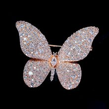 Red Trees Brand High Quality Insect Pins and Brooches Jewelry Fashion Brooch Butterfly New Year Gifts For Women Drop Shipping
