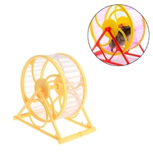 Pet Jogging Hamster Mouse Mice Small Exercise Toy Running Spinner Sport Wheels