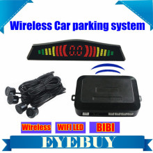 Wireless Car LED Auto Parking Sensor Reversing Backup Radar security alarm system