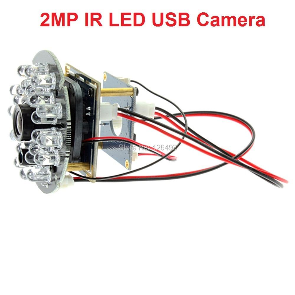 ФОТО 1080P CMOS OV2710 mini  ir led night vision usb  industrial camera  for different prototypes