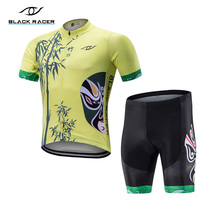 BLACK RACER 2018 cycling jersey bike clothes shorts set MTB bicycle wear ropa ciclismo summer women bike clothing