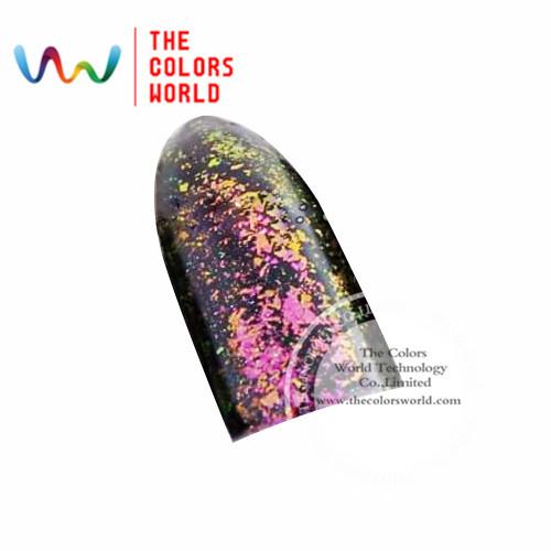 TCWB185 Copos Copos de Efecto Mágico de gran tamaño camaleón Camaleón para el Arte de uñas esmalte de uñas y otros decoración de DIY