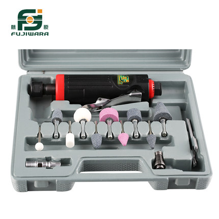 FUJIWARA Pneumatic Grinding Machine Set Dry Grinder Sanding Tool Polishing Machine Tire Grinding Machine Tire Repair Tool 20331 vibration type pneumatic sanding machine rectangle grinding machine sand vibration machine polishing machine 70x150mm