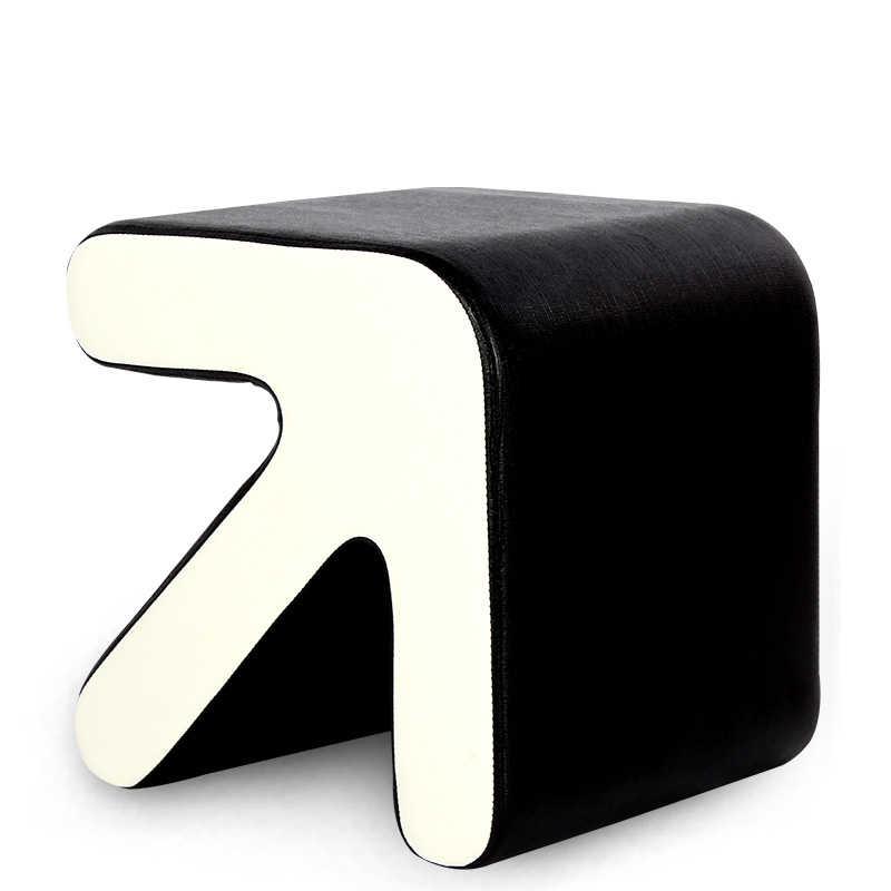 Модный креативный стул мебель для дома стреловидные европейские туфли табурет стул маленький диван стол сиденье гостиная подножка