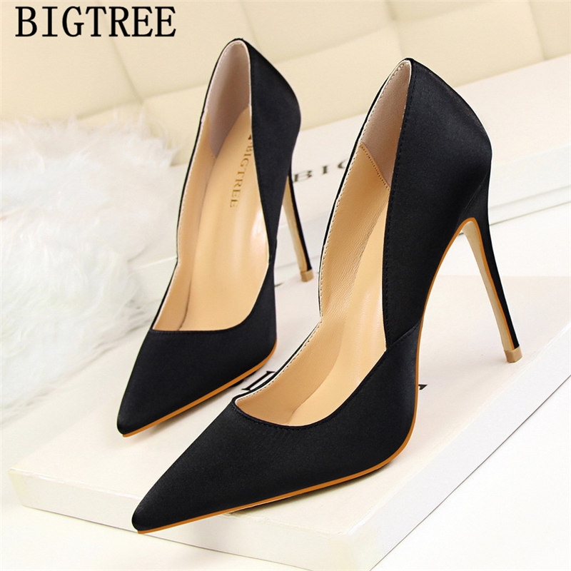 Sexy 1 3 Chaussures Haute Bigtree Bureau Talons Hauts Pompes Pointu Mujer Bout 2 Femmes 4 5 Extrême Tacones Altos O4p8aAq6