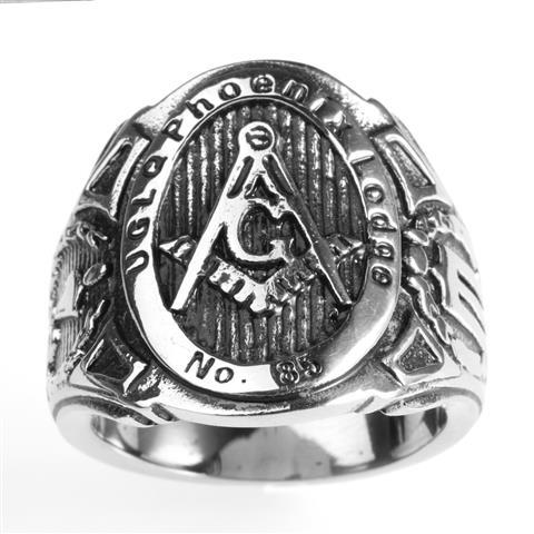ruby rose gold masonic ring reversible red masonic freemason