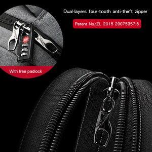 Image 3 - Tigernu causal repelente de água anti roubo homens 15.6 polegada mochilas portátil 24l mochila para meninos viagem negócios masculino
