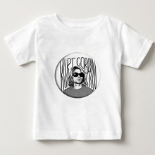 T-Shirt Kids Rock Nirvana Short-Sleeve Summer Top Boy/girl 90s Cotton Camiseta NN Kurt