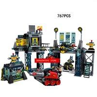 Gorące kompatybilny LegoINGlys otwór modle Building Blocks Marvel Super hero Batman Bat Robin Trujące rattan figurki cegły zabawki prezent