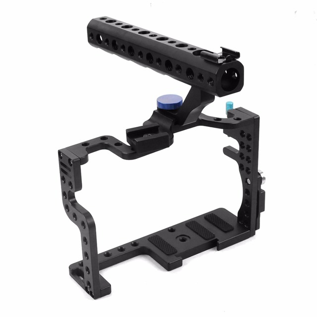 for Professional Panasonic GH3 GH4 Protective Housing Case Handle Grip Rugged Cage Combo Set for DSLR Rig Digital Camera