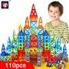 BD 110pcs Mini Magnetic Designer Construction Set Model Building Toy Plastic Magnetic Blocks Educational Toys For