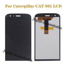 5.2 AAA high quality display for Caterpillar CAT S61 LCD + touch screen digital converter perfect repair accessories