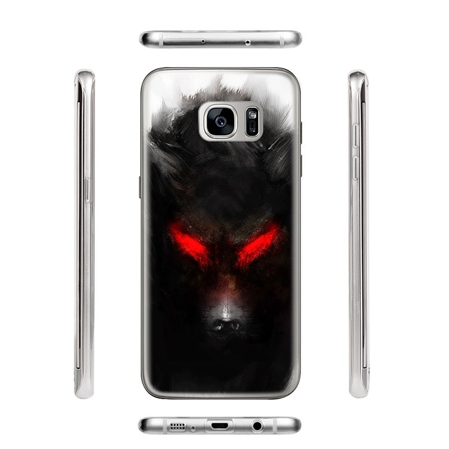 Animal Wolf  Phone Cases for Samsung Galaxy J5 J3 A5 2016 Grand Prime G530 S5 S6 S7 Edge Note 3 4 5